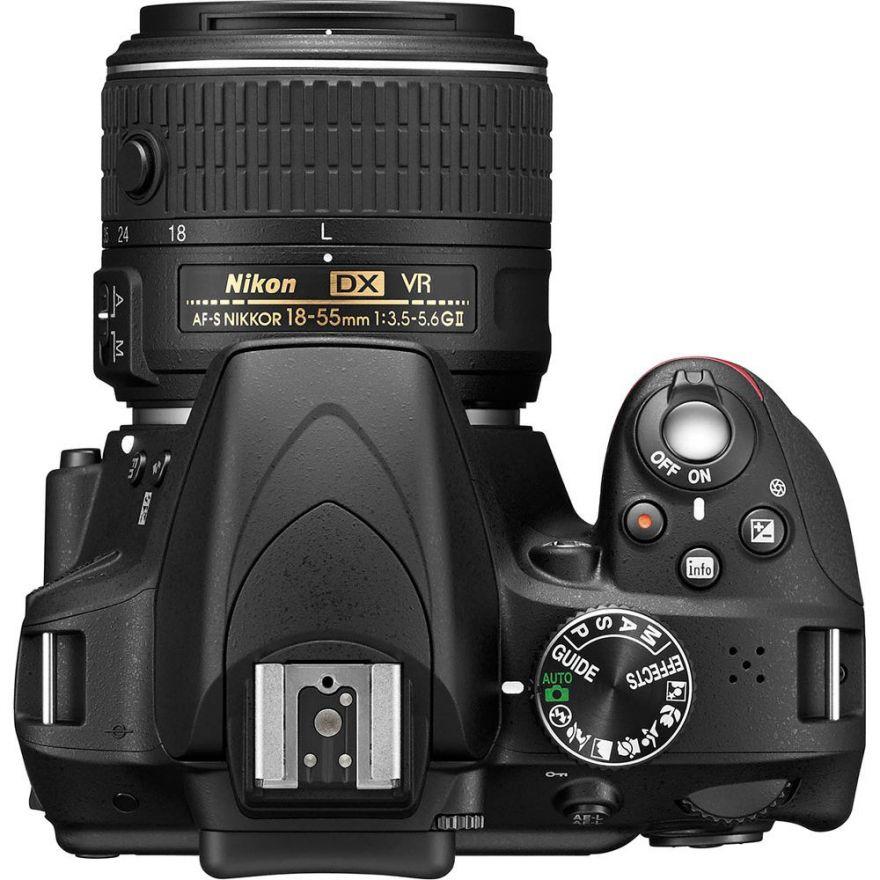 Nikon D3300 kit 18-55 mm