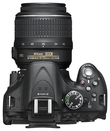 Nikon D5200 kit 18-55 mm