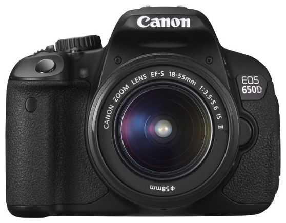 Canon EOS 650D kit 18-55 mm