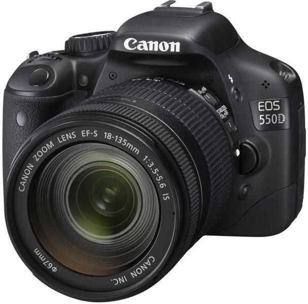 Canon EOS 550D kit 18-135 IS