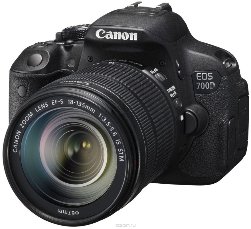 Canon EOS 700D kit EF-S 18-135 IS