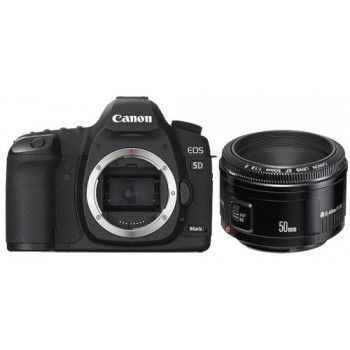 Canon EOS 5D Mark III kit 50mm/1.8 II