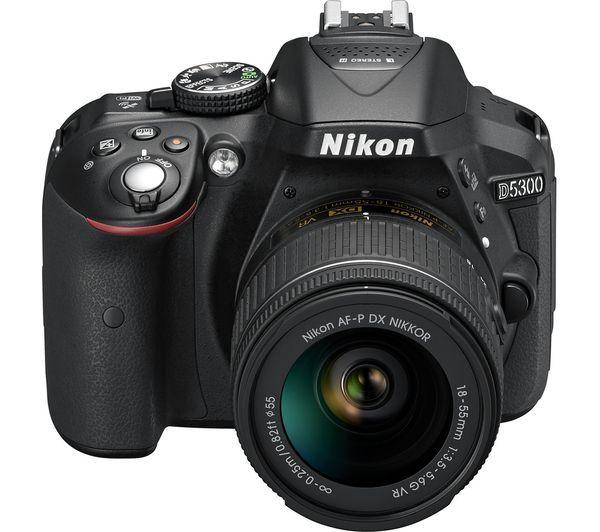 Nikon D5300 kit 18-55 mm