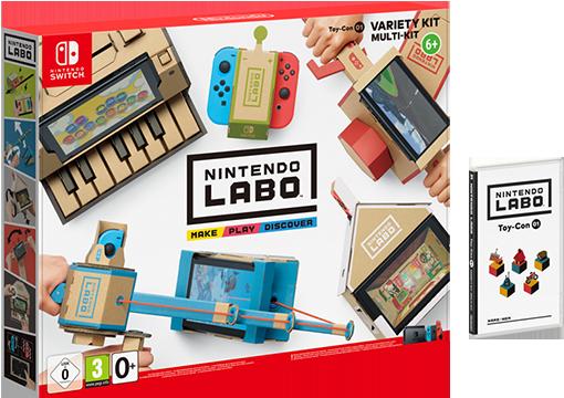 Nintendo Labo : Набор «Ассорти» Labo Variety Kit (Nintendo Switch)