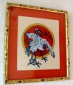 "Cross stitch pattern ""Cranes""."