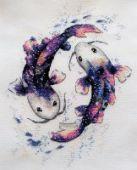 "Cross stitch pattern ""Cosmic harmony""."