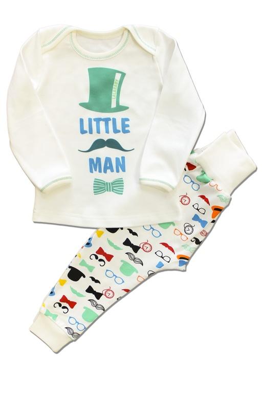 """Пижама  для мальчика """"Little man"""". Арт. 821-064"""