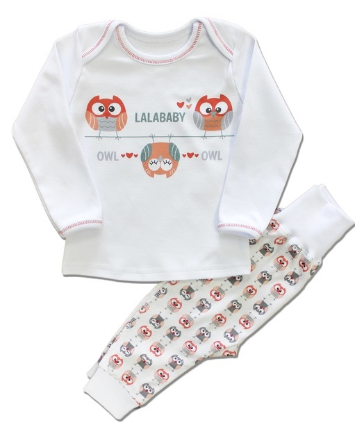 "Пижама  для девочки ""Совушки"". Арт. 811-062"