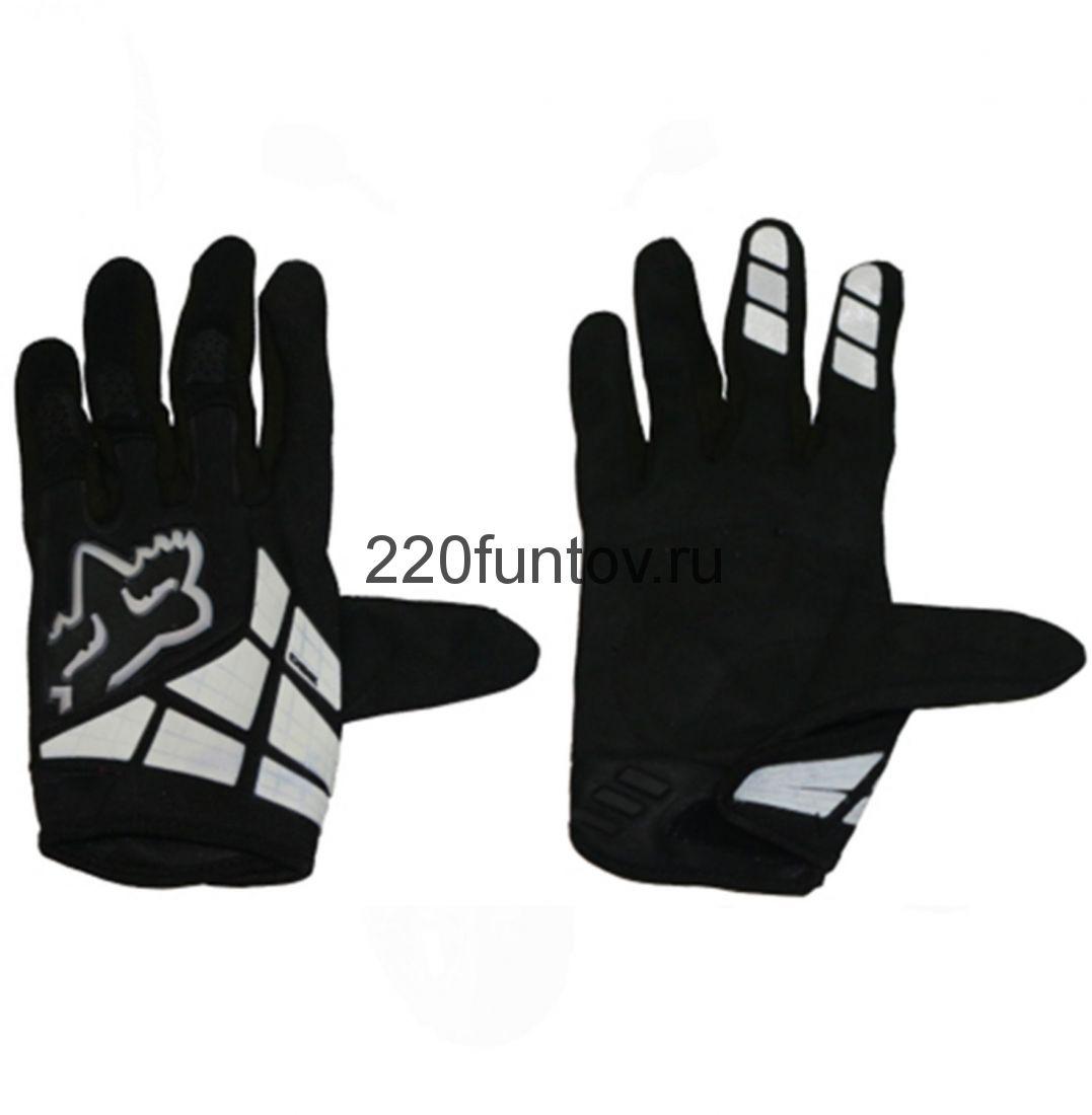 Перчатки Fox черные