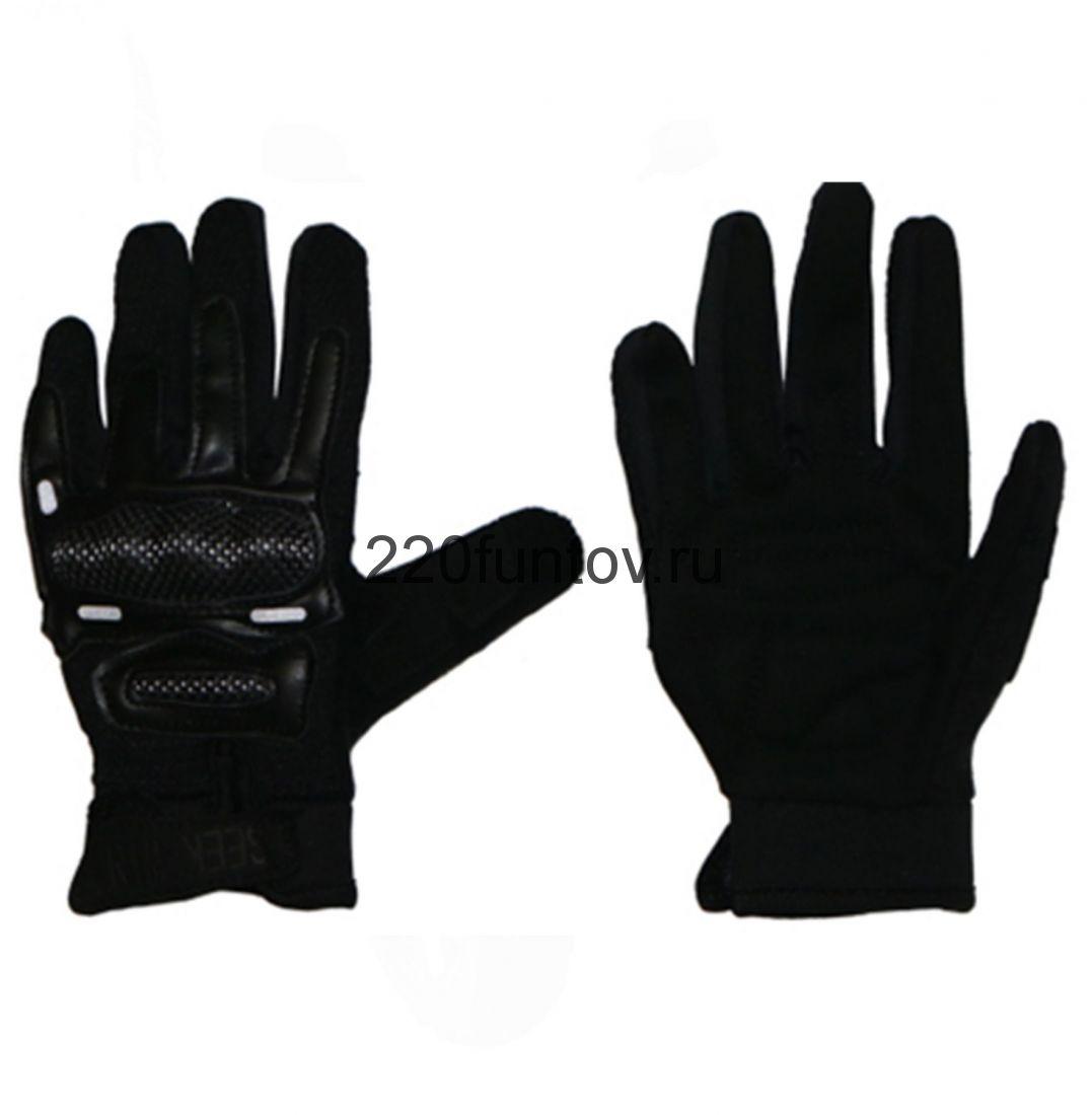 Перчатки SEEKWIN с кулаком черные