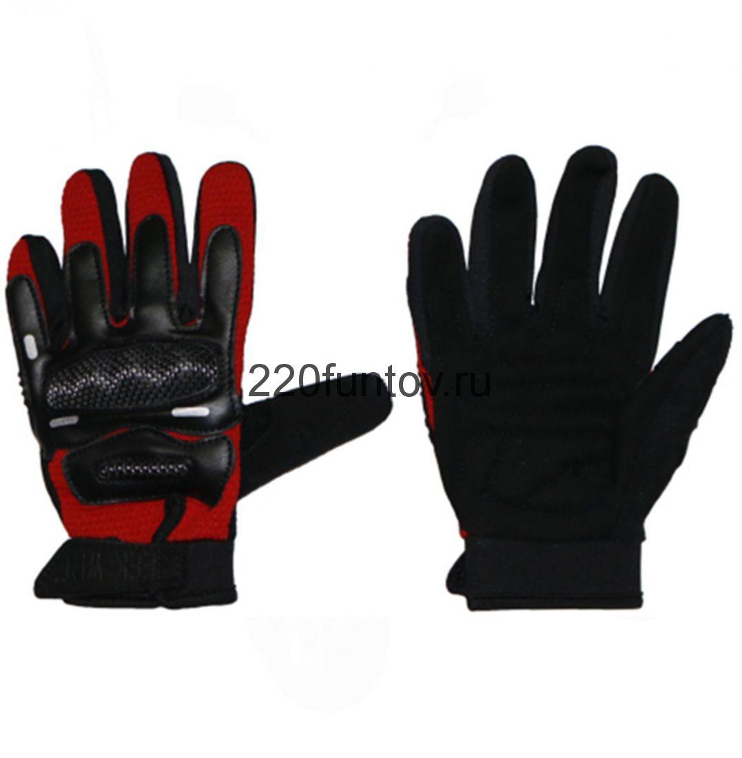 Перчатки SEEKWIN с кулаком красные