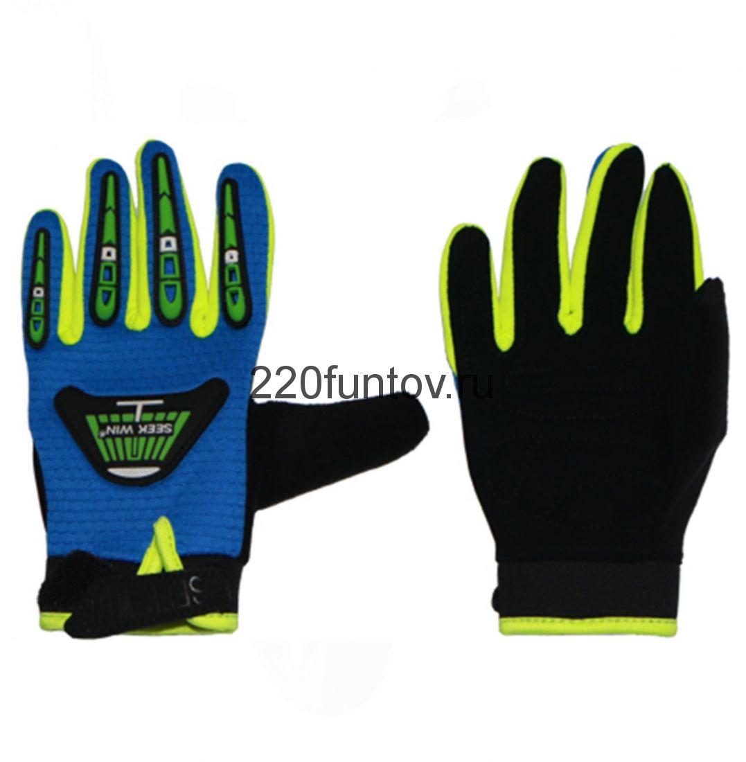 Перчатки SEEKWIN без кулака синие