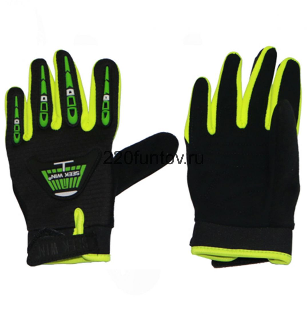 Перчатки SEEKWIN без кулака черные