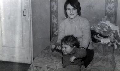 Юрий со второй женой Галиной и второй дочерью Надей