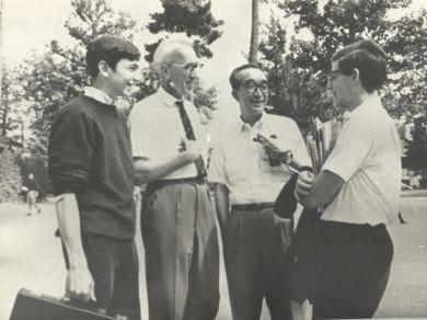 7-я Конференция ИСМЕ, г. Интерлохен, США, 1966 г.