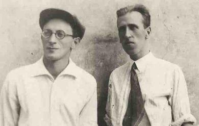 С В.Белым, 1941/42 гг.