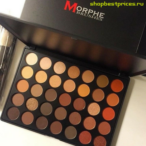 Палетка теней MORPHE BRUSHES