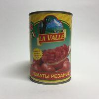 Помидоры резанные в собственном соку La Valle - 400 гр