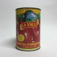 Помидоры в собственном соку La Valle - 400 гр