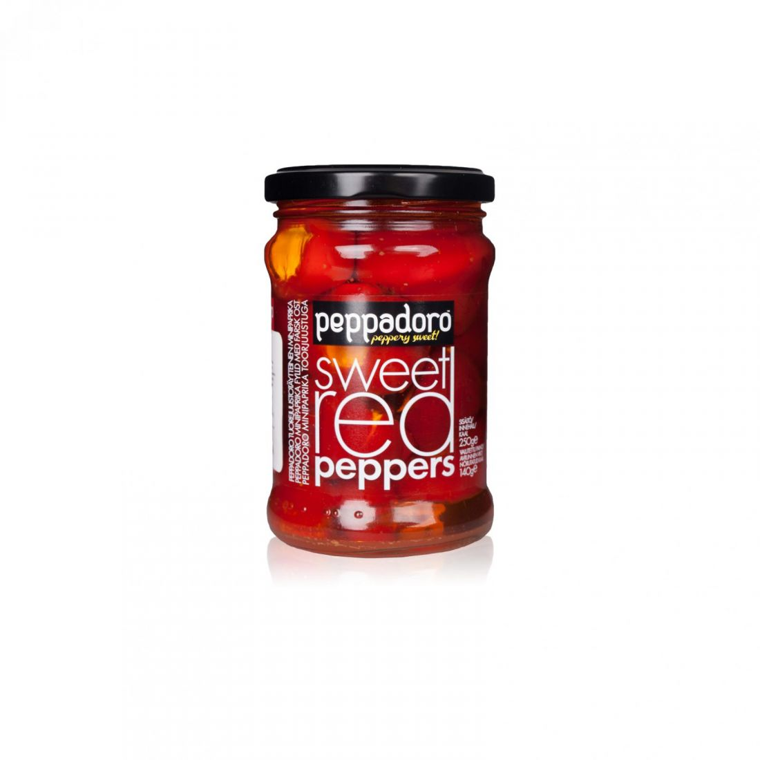 Перцы с сыром Peppadoro - 250 гр