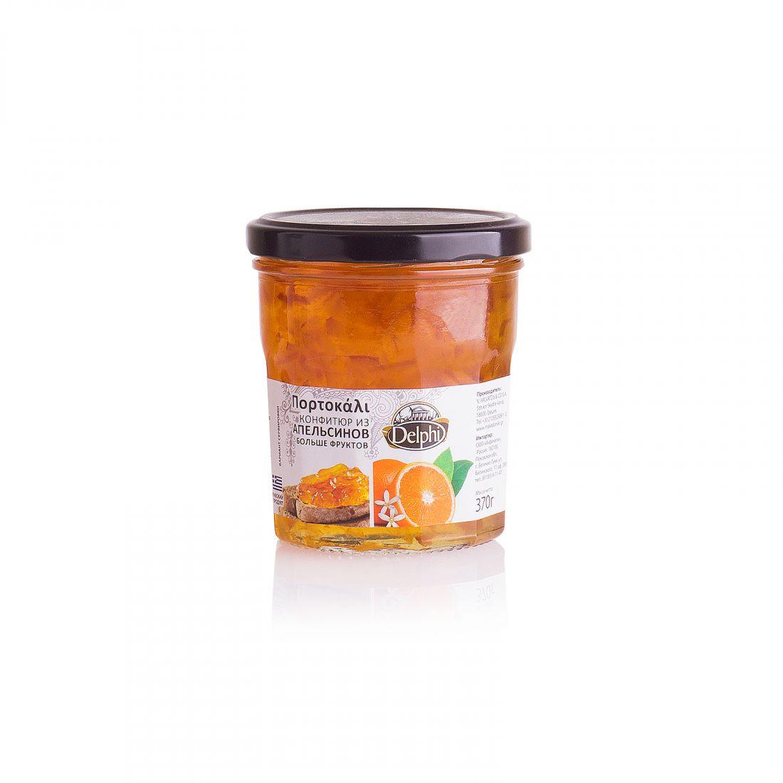Конфитюр из апельсинов Delphi - 370 гр.