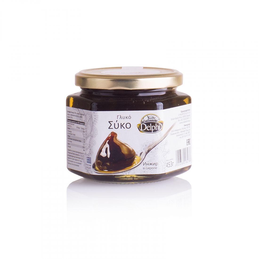 Инжир в сиропе Delphi - 453 гр
