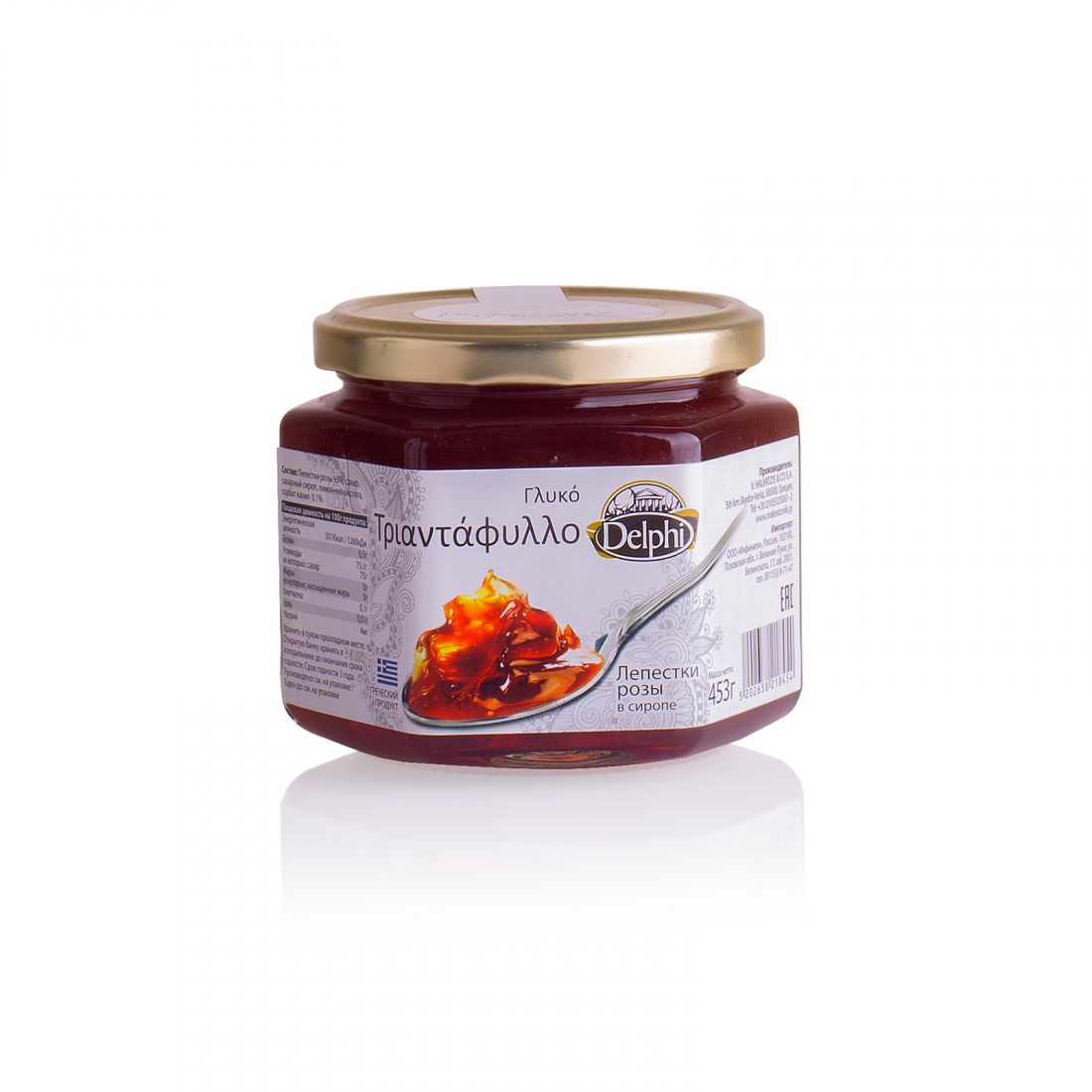 Лепестки розы в сиропе Delphi - 453 гр