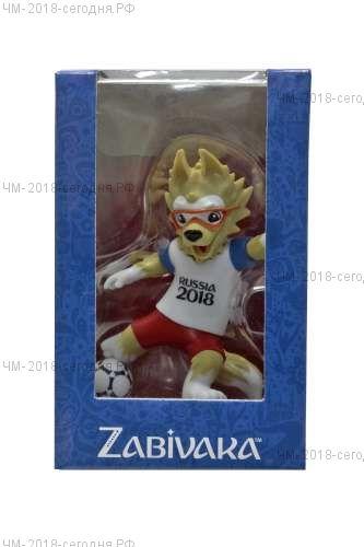 FIFA-2018 фигурка Zabivaka Kicking 9 см в подар.кор.
