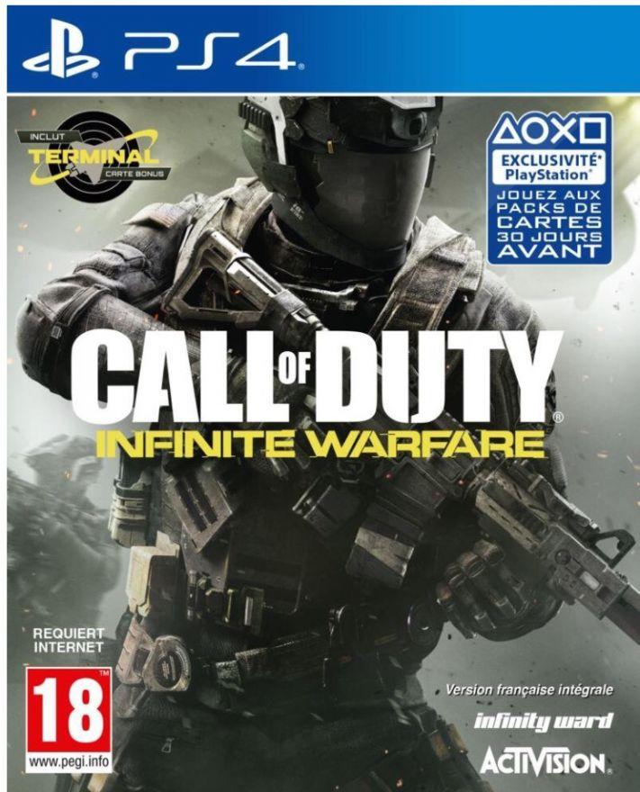 Игра Call of Duty: Infinite Warfare (PS4, русская версия)