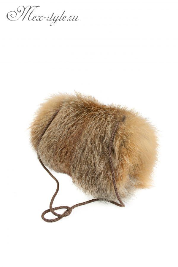Муфта из меха лисы