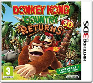 Игра Donkey Kong Country Returns 3D (Nintendo 3DS)