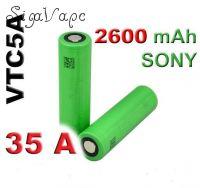 Аккумулятор VTC5a 18650 (2600mAh, 35А) - высокотоковый