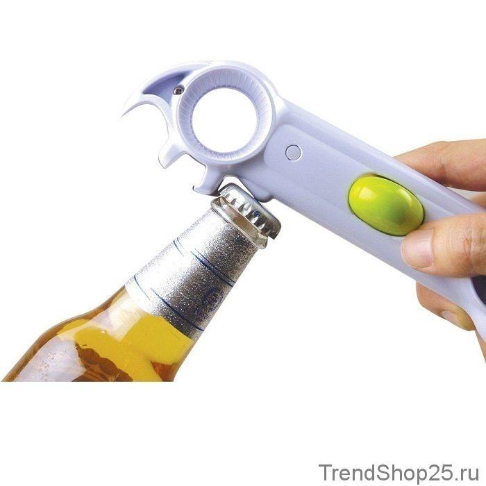 Универсальная открывалка - консервный нож 6 в 1 Kitchen Can Opener