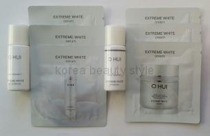 Набор из 8 пробников средств линии O HUI snow vitamin™ EXTREME WHITE