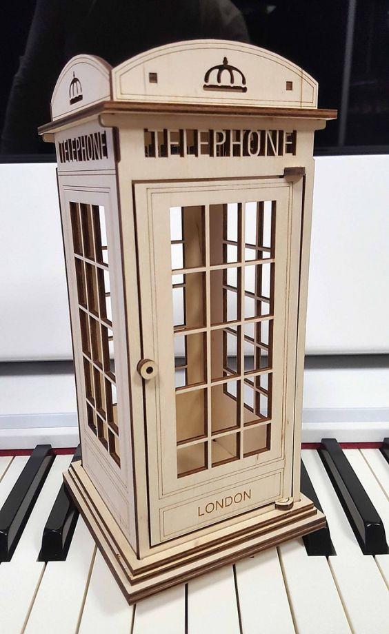 Чайный домик телефонная будка из дерева на заказ