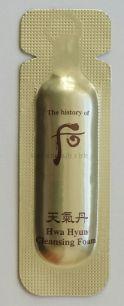 The history of Whoo Hwa Hyun foam (sample) -Пенка для умывания  линии средств Hwa Hyun  от бренда  The history of Whoo