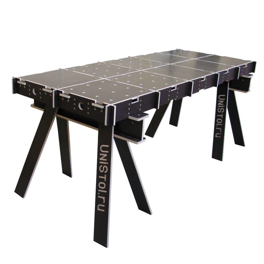Ячеистый стол для раскроя листовых материалов 2000x800 мм со столешницей