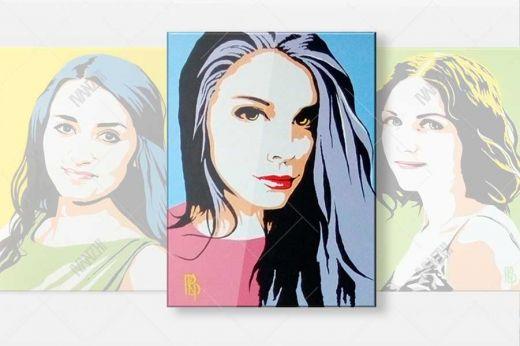 Портреты в стиле Pop-Art