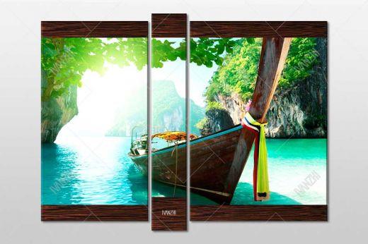 Длиннохвостая Таиландская лодка
