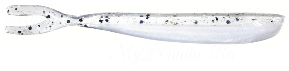Силиконовая приманка SAKURA DROP FORK 6,5 см цвет 038 Pearl/Smoke Back