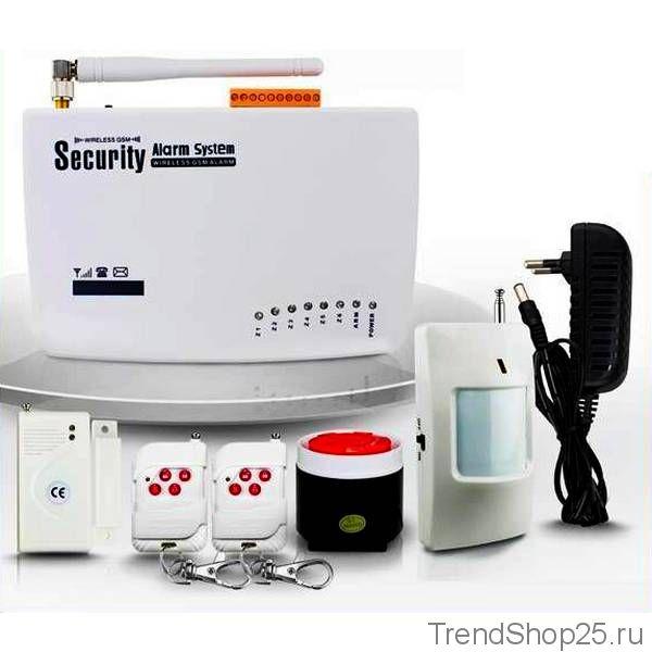 Комплект GSM сигнализации для дома, дачи, гаража