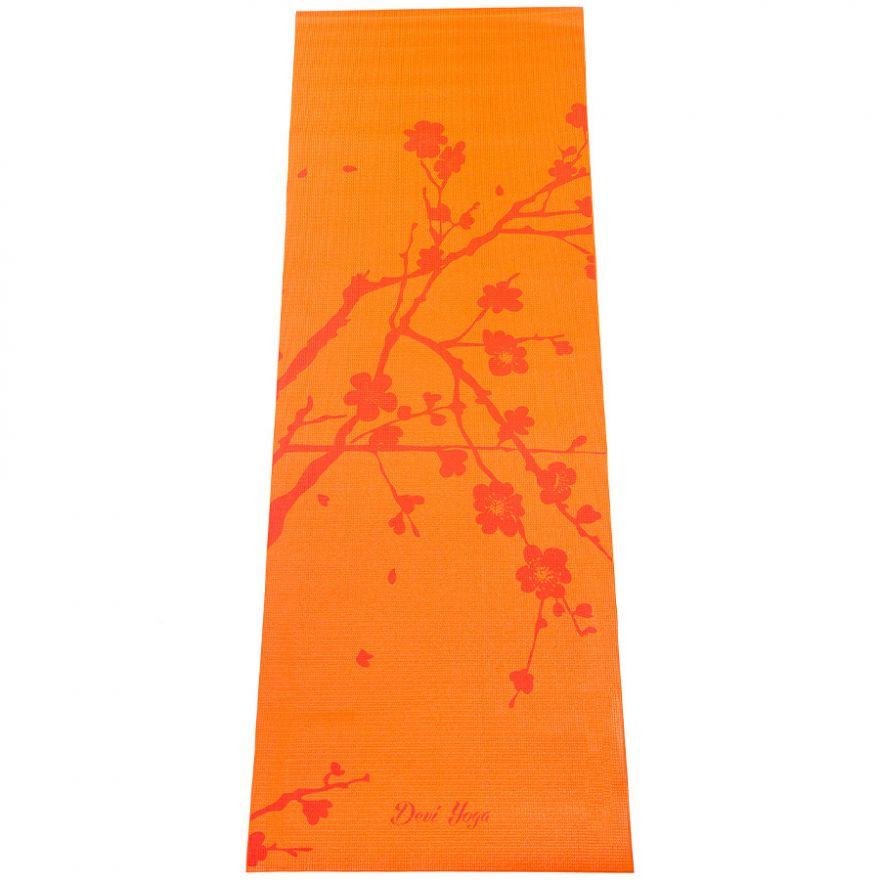 Коврик для йоги Сакура 183*61*0,4см
