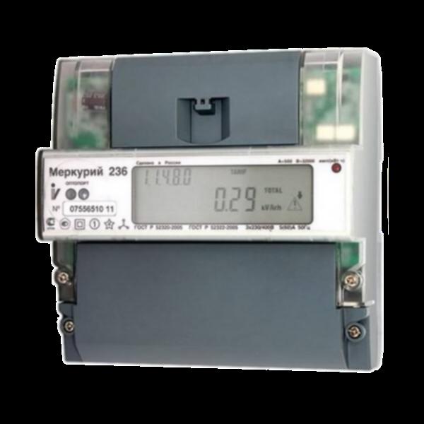 Счётчик Меркурий 236 АRT-01 PQL трёхфазный