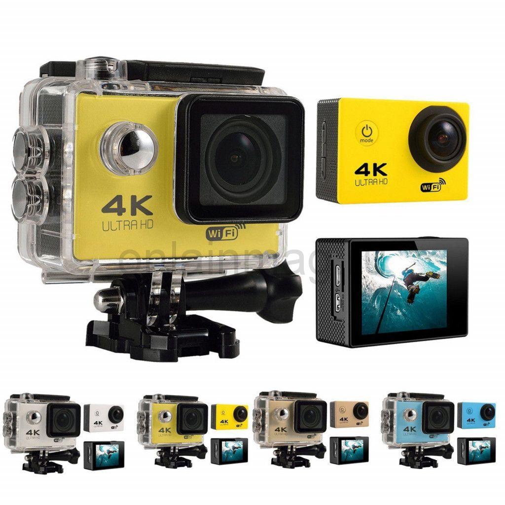 Экшн-камера 4K SPORTS ULTRA HD DV (wi-fi)