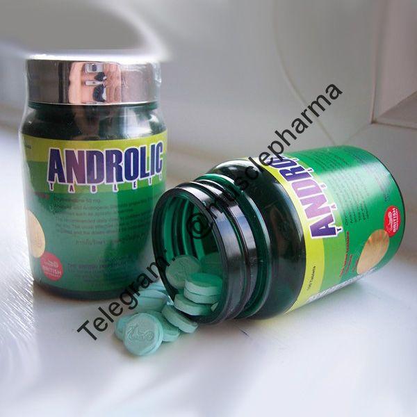 ANDROLIC (ОКСИМЕТАЛОН). British Dispensary. 100 таб. по 50 мг.