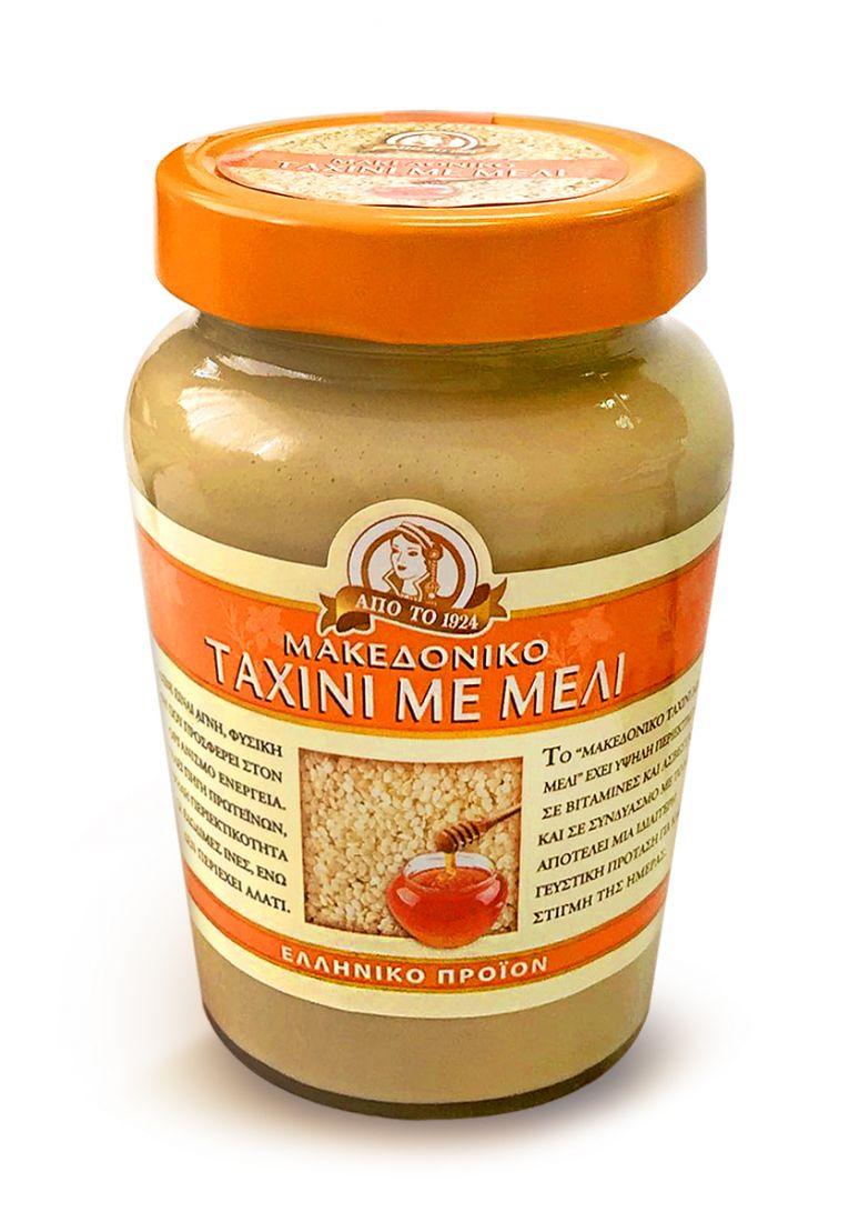 Паста тахини натуральная с медом Македонико - 350 гр