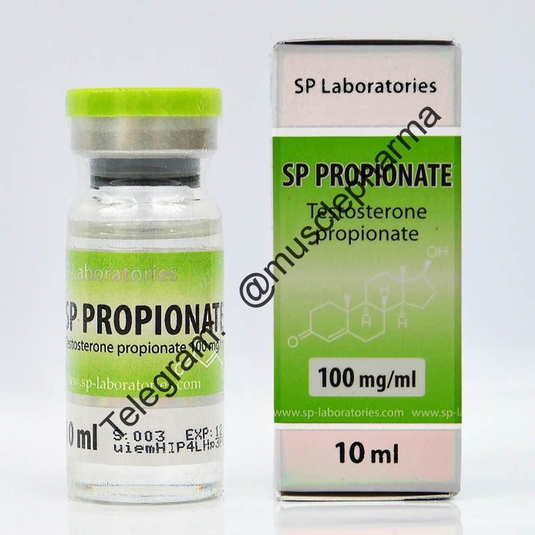 TESTOSTERONE PROPIONATE (SP Laboratories). 1 флакон * 10 мл.