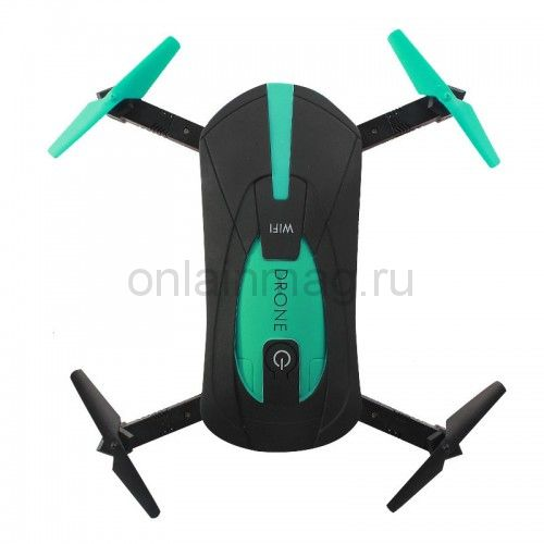 Складной дрон квадрокоптер POCKET DRONE JY018
