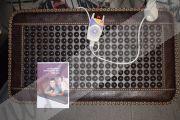 """Согревающий турмалиновый коврик """"Малый"""" (Модель DKY03) Аналог матов Нуга Бест."""