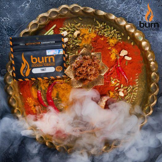 Табак Burn - Tibet (Индийские специи) 100 гр